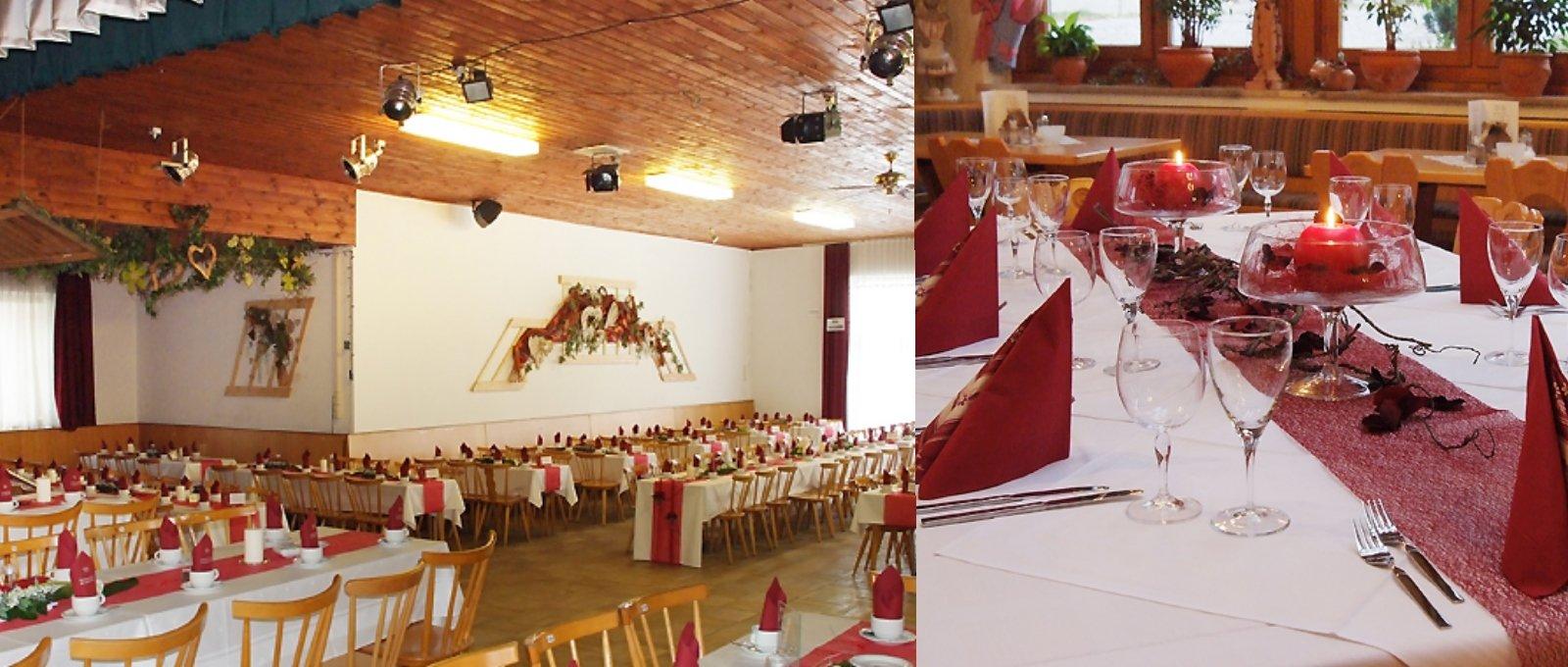 Party Location für Firmenfeiern und Familienfeiern im Landkreis Regen